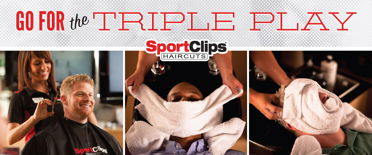 The Sport Clips Haircuts of Hilliard South Triple Play