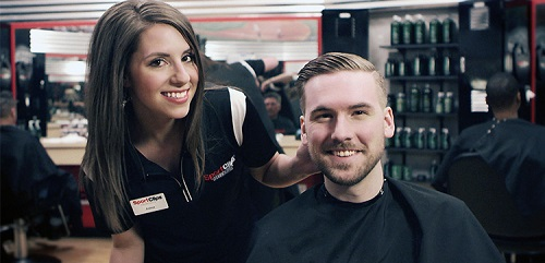 Sport Clips Haircuts of Hilliard South​ stylist hair cut